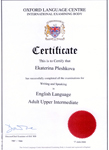 OLC Level Certificate
